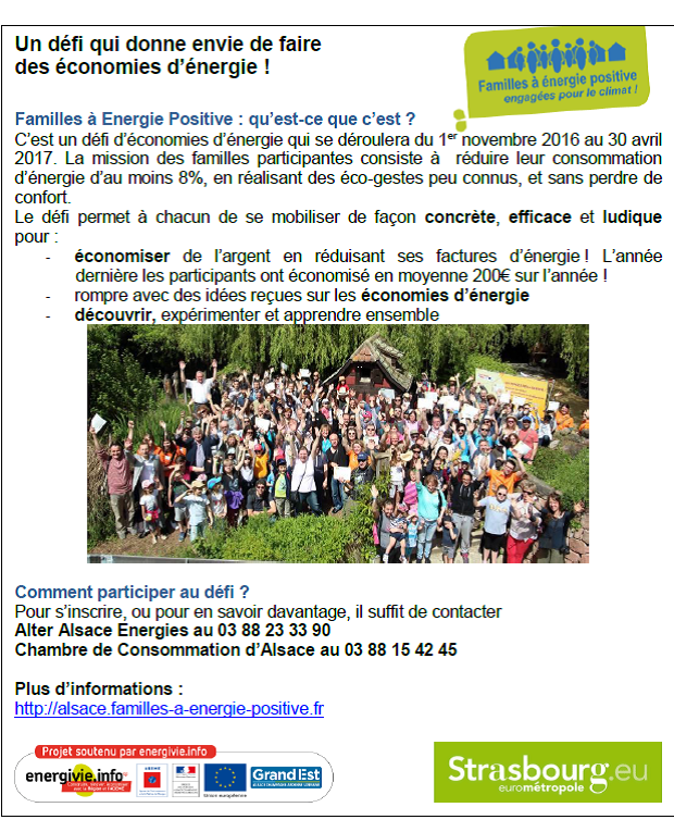 Nouvelle Defi Famille A Energie Positive Mairie D Eckwersheim